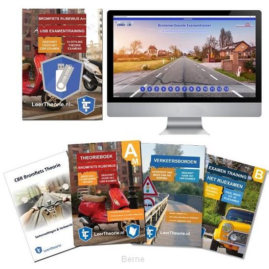 Bromfiets Theorieboek 2020 Rijbewijs B | Bromfiets Theorieboek | Scooter Theorie Samenvatting | Verkeerborden overzicht | Praktijk informatie | Scooter Theorie Oefen-USB |