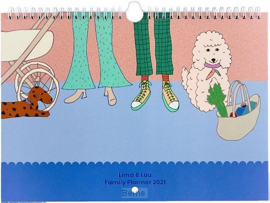 Lima&Lou Familieplanner 2021 Auteur: A-Journal