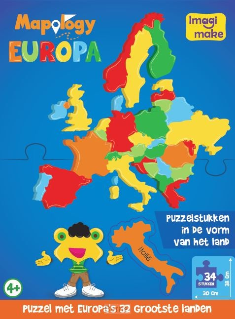 Europa (NL) foam puzzle