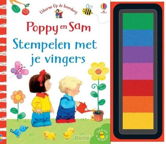 Poppy en Sam Stempelen met je vingers