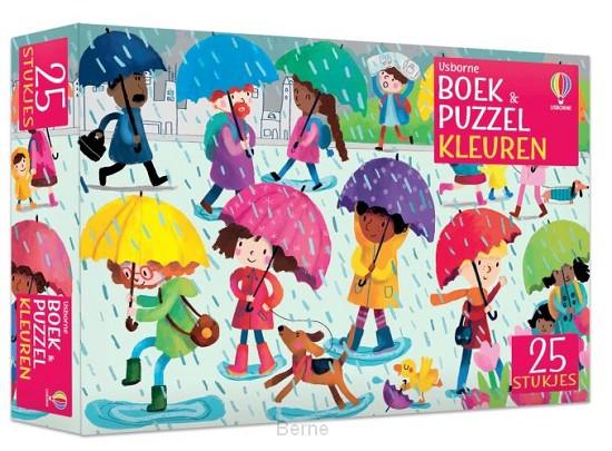 Boek & puzzel Kleuren
