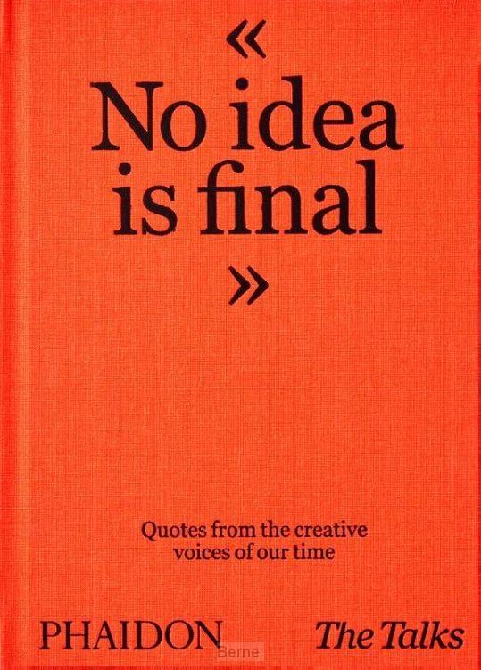 The Talks - No Idea Is Final