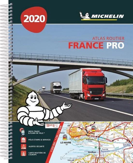 *ATLAS MICHELIN FRANKRIJK 2020 PRO