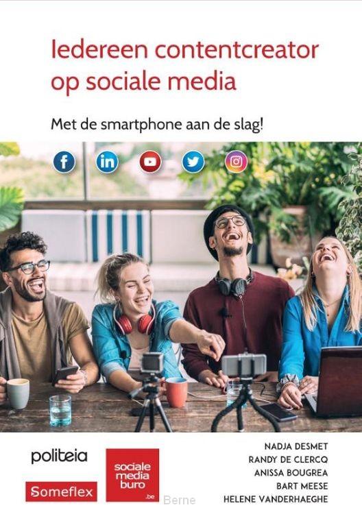 Iedereen contentcreator op sociale media (pakket van 5)