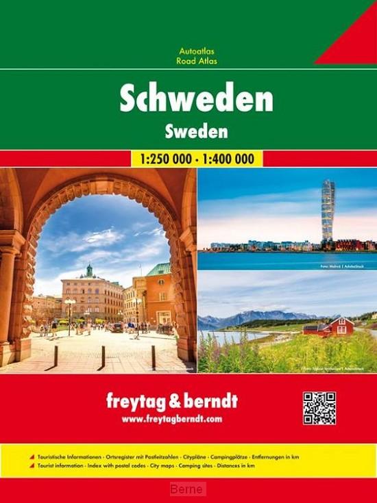 Schweden - Autoatlas 1:250.000/1:400.000