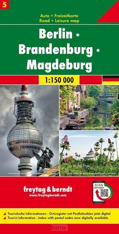 Berlin - Brandenburg - Magdeburg, Autokarte 1:150.000, Blatt 5