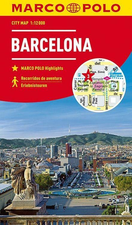 MARCO POLO Cityplan Barcelona 1:12 000