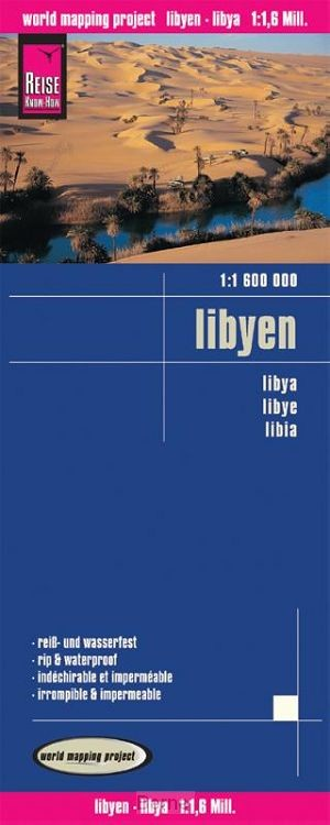 Reise Know-How Landkarte Libyen (1:1.600.000)