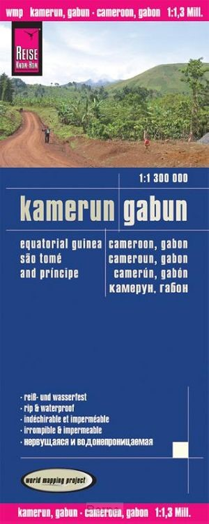 Reise Know-How Landkarte Kamerun, Gabun (1:1.300.000)