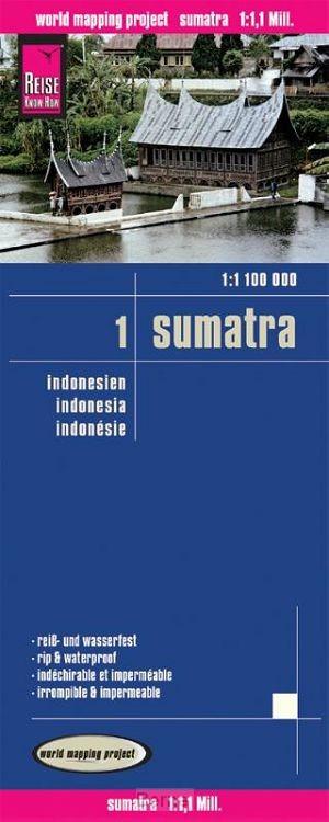 Indonesien Sumatra 1 : 1 100 000