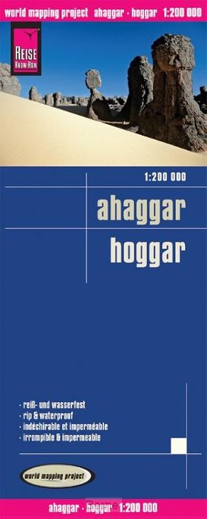Reise Know-How Landkarte Ahaggar / Hoggar (1:200.000)