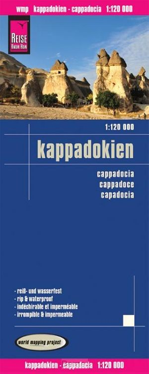 Reise Know-How Landkarte Kappadokien 1 : 120 000