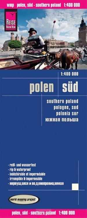 Reise Know-How Landkarte Polen-Süd 1 : 400.000