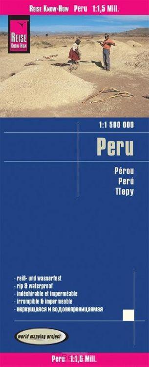 Reise Know-How Landkarte Peru 1 : 1.500.000
