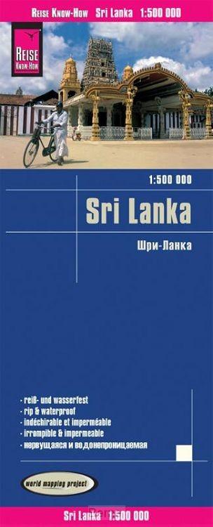 Reise Know-How Landkarte Sri Lanka  1  :500.000