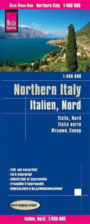 Reise Know-How Landkarte Italien, Nord 1 : 400.000