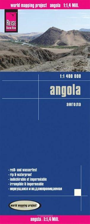 Reise Know-How Landkarte Angola  1 : 1.400 000