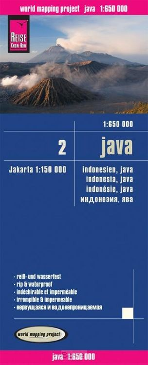 Reise Know-How Landkarte Java (1:650.000) - Indonesien 2