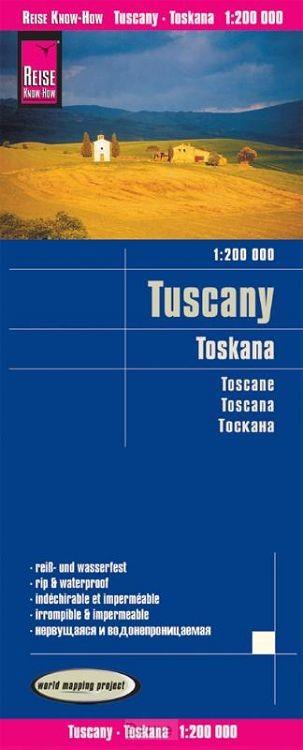 Reise Know-How Landkarte Toskana (1:200.000)