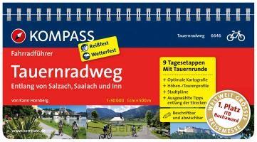 FF6646 Tauernradweg, entlang von Salzach, Saalach und Inn Kompass