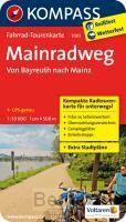 Kompass FTK7003 Mainradweg, Von Bayreuth nach Mainz FTK7003