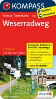 Kompass FTK7006 Weserradweg
