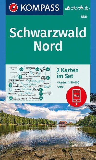 Schwarzwald Nord 1:50 000