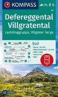 Defereggental, Villgratental, Lasörlinggruppe, Villgrater Berge 1:50 000