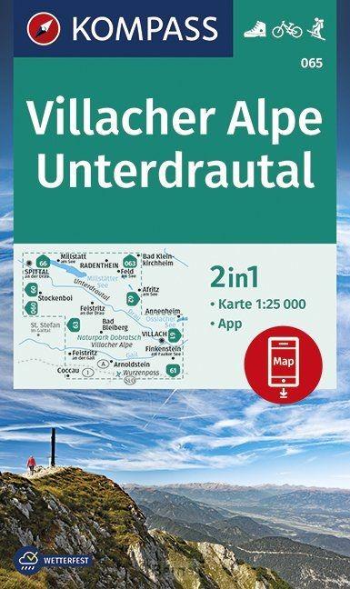 Villacher Alpe, Unterdrautal 1:25 000