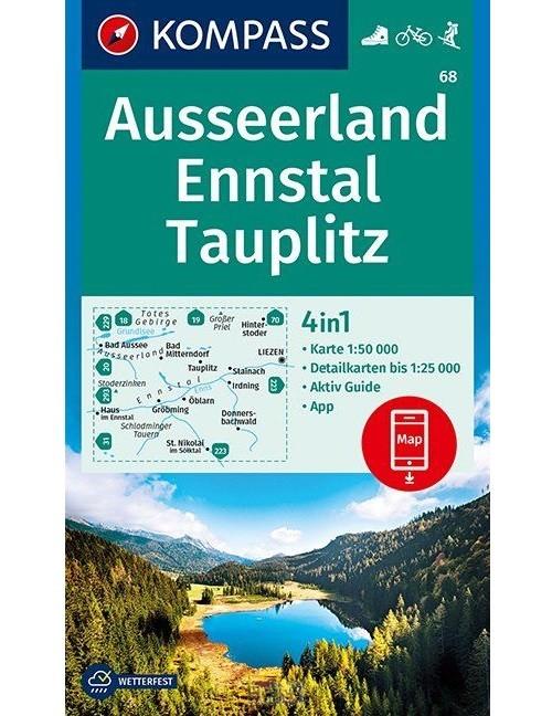 Ausseerland, Ennstal, Tauplitz 1:1:50 000