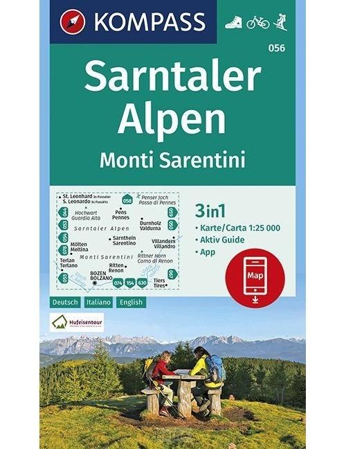 Sarntaler Alpen, Monti Sarentini 1:25 000