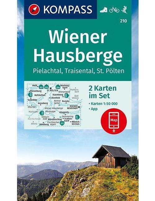 Wiener Hausberge, Pielachtal, Traisental, St. Pölten 1:50 000