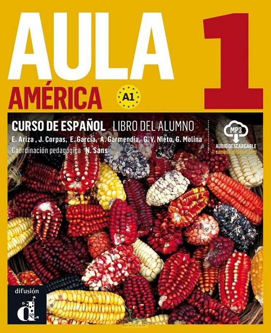 Aula América 1 Libro del alumno + MP3