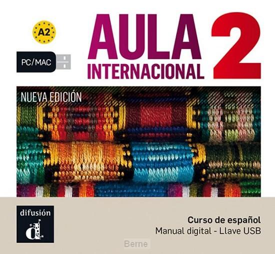 Aula internacional 2 Nueva edición A2 - Llave USB con libro digital