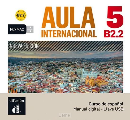 Aula internacional 5 Nueva edición B2.2 - Llave USB con libro digital