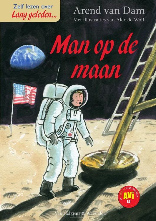 De man op de maan