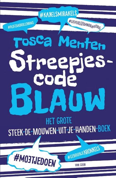 Streepjescode Blauw
