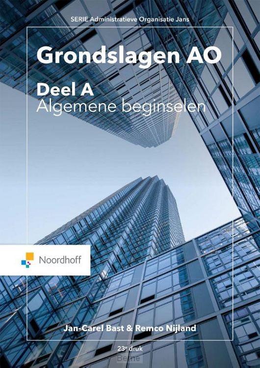 Grondslagen AO / deel A, Algemene beginselen