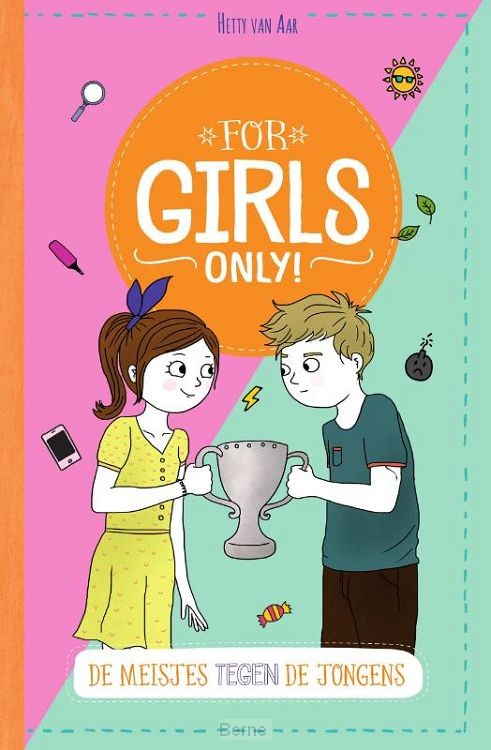 De jongens tegen de meisjes