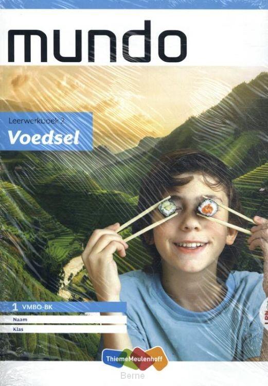 Mundo LRN-line online + boek 1 vmbo bk thema 2: Voedsel