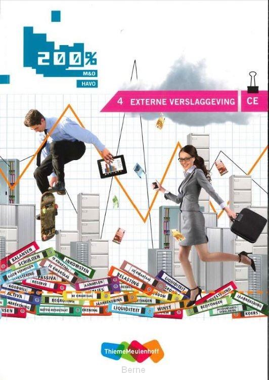 Externe verslaggeving CE / M&O havo; Cursus 4