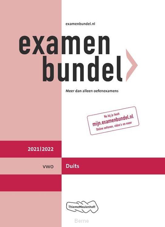 Examenbundel vwo Duits 2021/2022