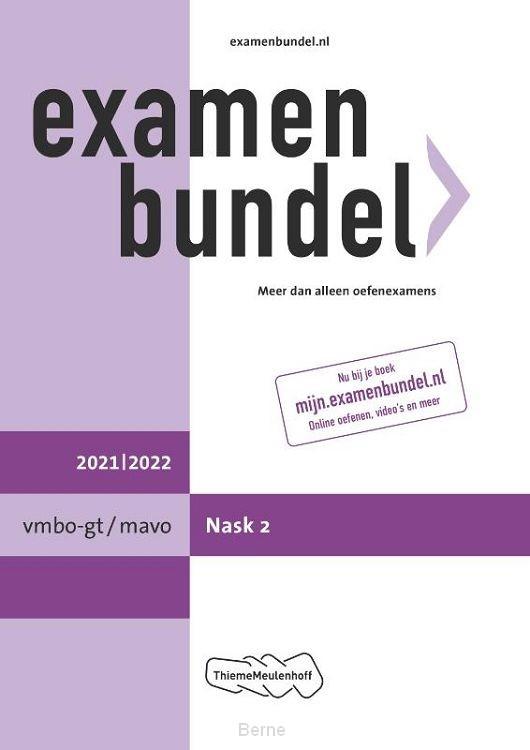 Examenbundel vmbo-gt/mavo NaSk2 2021/2022