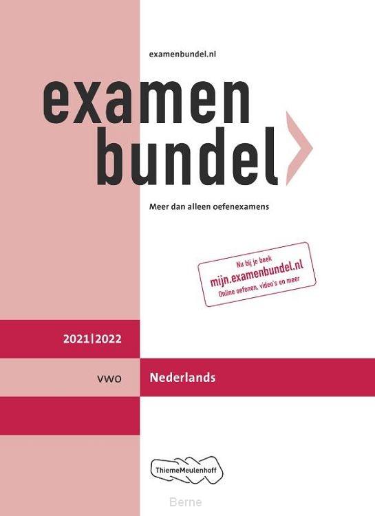 Examenbundel vwo Nederlands 2021/2022