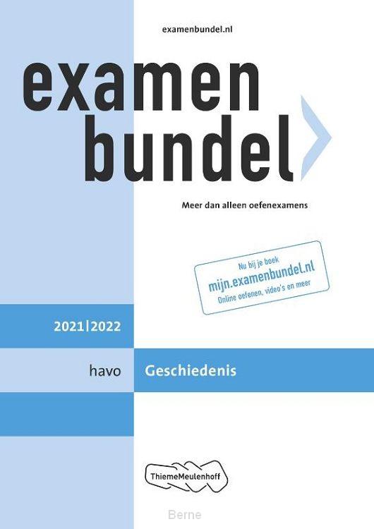 Examenbundel havo Geschiedenis 2021/2022