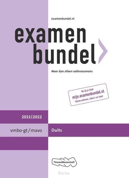 Examenbundel vmbo-gt/mavo Duits 2021/2022