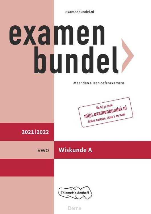 Examenbundel vwo Wiskunde A 2021/2022