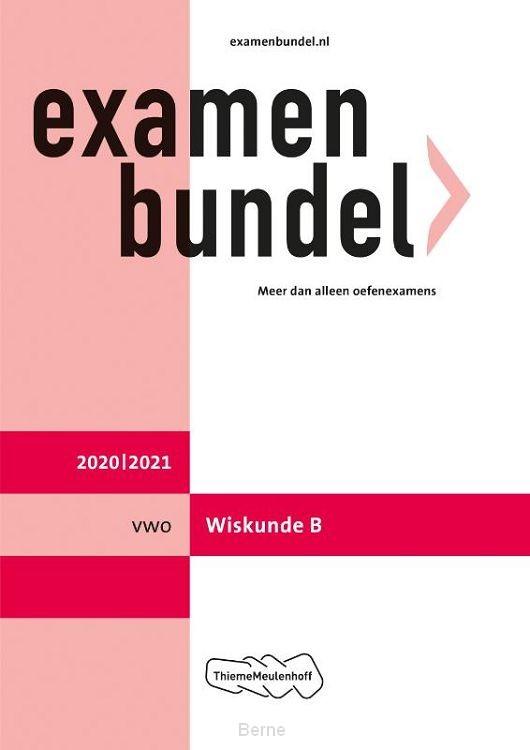 Examenbundel / vwo Wiskunde B 2020/2021