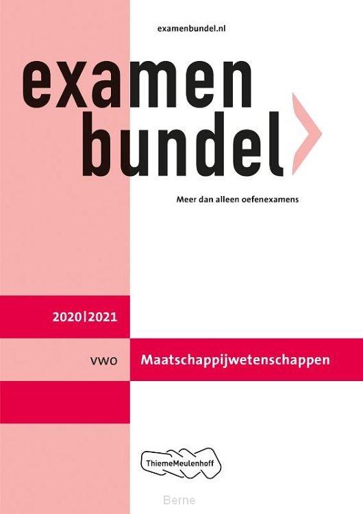 Examenbundel / vwo Maatschappijwetenschappen 2020/2021