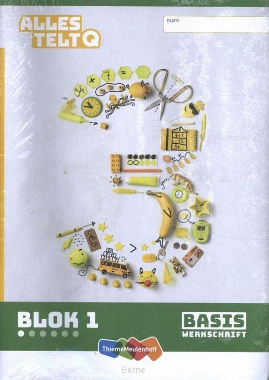 Alles telt Q Basiswerkschrift blok 1 t/m 6 groep 3